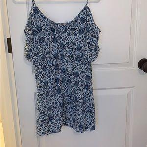 Urban outfitters eotté blue pattern dress